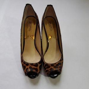 Michael Kors cheetah heels